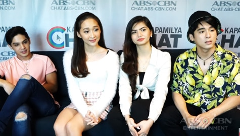 Kapamilya Chat with Star Magic Circle 2019 JC, Melizza , Eisel, and Anthony Image Thumbnail