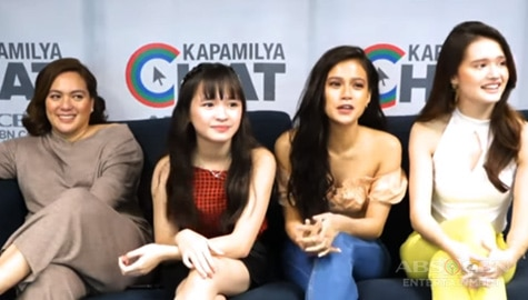 Kapamilya Chat with the Mabunga Girls for Pamilya Ko Image Thumbnail