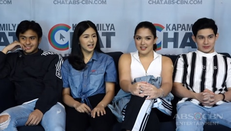 Kapamilya Chat with Paulo, Kaori, Fino, Ria, and Charlie for Parasite Island Image Thumbnail