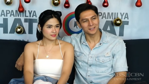 "Kapamilya Chat With Yam Concepcion and Joseph Marco for iWant Original Series' ""Uncoupling"" Image Thumbnail"
