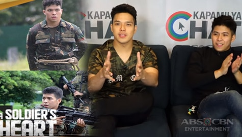 Kapamilya Chat with Elmo Magalona and Nash Aguas for A Soldier's Heart Image Thumbnail