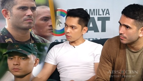 Kapamilya Chat with Gerald Anderson and Carlo Aquino for A Soldier's Heart Image Thumbnail