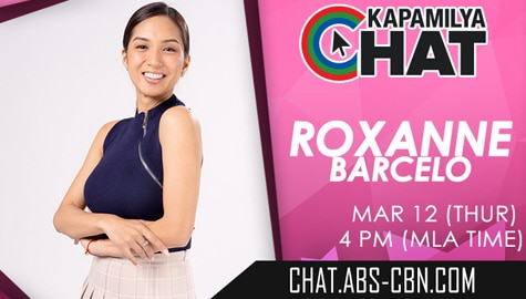 Kapamilya Chat with Roxanne Barcelo for Fluid	 Image Thumbnail