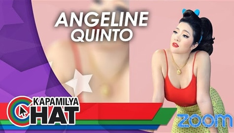 Kapamilya Chat with Angeline Quinto for Padalove via Zoom