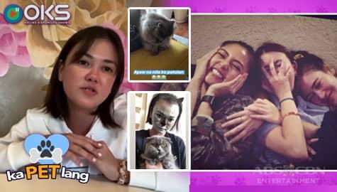 KaPET Lang: Angelica Panganiban, tinatago ang kanyang pusa kapag nagpupunta si Kim Chiu sa bahay niya Image Thumbnail