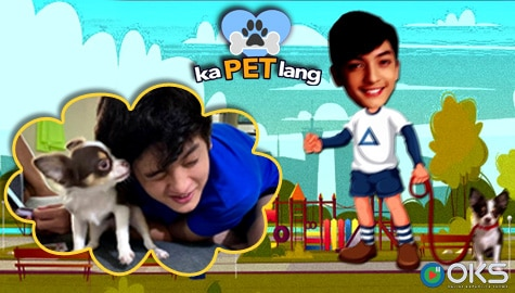 Kapet Lang: Meet Seth Fedelin's cutie puppy Whiskey | Episode 4 - Online Kapamilya Shows