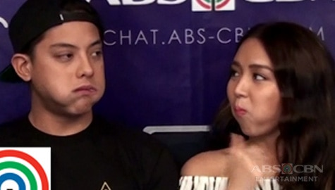 KathNiel takes on the Chubby Bunny Challenge Kapamilya Chat version Image Thumbnail