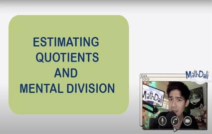 Mathdali Live | Estimating Quotients and Mental Division Thumbnail