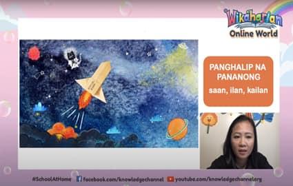 Wikaharian Online World | Panghalip na Pananong: Saan, Ilan, Kailan | Ang Nakagugulat ng Report Card Image Thumbnail