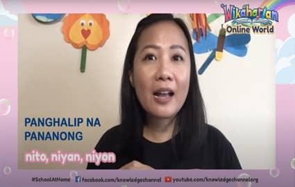 Wikaharian Online World | Panghalip na Pananong: Nito, Niyan, Niyon | Ang Espesyal na Araw ni Chacha Image Thumbnail