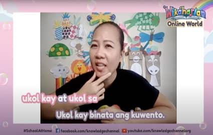 Wikaharian Online World | Pang-ukol: Ukol sa at Ukol kay | Ang Unggoy at Ang Buwaya  Image Thumbnail