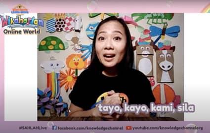 Wikaharian Online World | Panghalip: Tayo, Kayo, Kami, Sila | Si Juan at ang mga Alimango Thumbnail