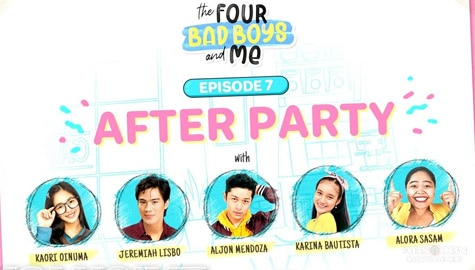 WATCH: The Four Bad Boys and Me After Party Image Thumbnail