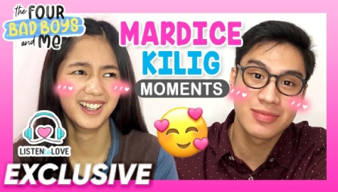WATCH: MarDice kilig moments in 'Four Bad Boys and Me' Image Thumbnail
