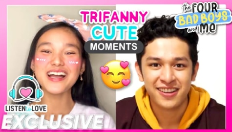 WATCH: Trifanny's cute moments in 'Four Bad Boys and Me' Image Thumbnail