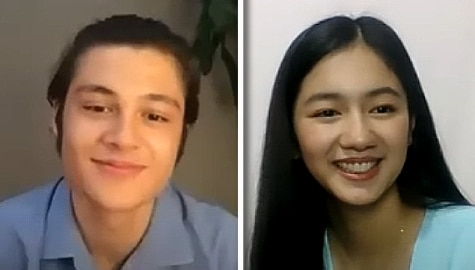 Kilig 'Fill In The Blanks' game with KaoRhys Image Thumbnail