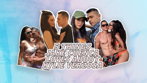 5 things Jake Cuenca loves about Kylie Verzosa