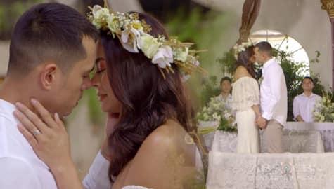 WATCH: Isay & Isagani's Wedding vows on Los Bastardos Image Thumbnail
