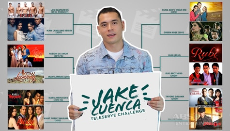 Jake Cuenca reveals his all time favorite teleserye