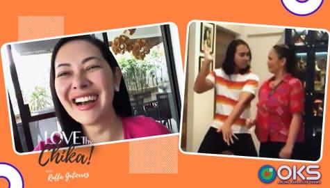 Eula at Miguel, sumabak sa dance challenge ni Ruffa  | Love Thy Chika Thumbnail