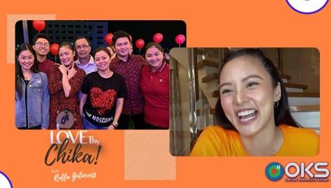 Kim, labis ang paghanga sa mga breadwinner ng bawat pamilya | Love Thy Chika Image Thumbnail