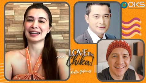 WATCH: Sunshine, nilinaw ang issue tungkol kina Chuckie at Cesar | Love Thy Chika Image Thumbnail