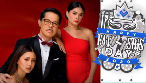 FATHER'S DAY 2020: 10 scenes Adam proved he is a fair father to Dana and Jia in Love Thy Woman Image Thumbnail