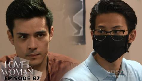 Love Thy Woman: David, sinubukan kilalanin sa presinto si Gab | Episode 87
