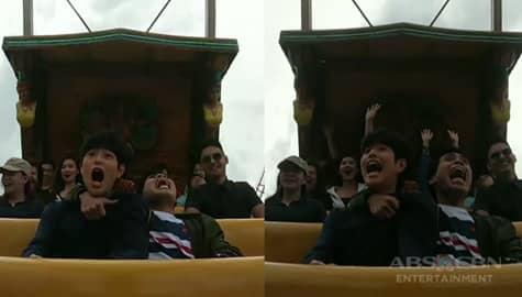 Magandang Buhay: Yamyam & Fumiya's funny reaction during their Super Viking ride Image Thumbnail