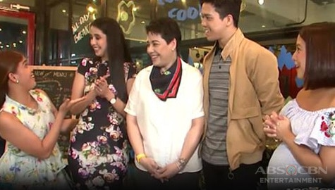 Momshie Jolina & Melai visit the Magalona's newly opened business Image Thumbnail