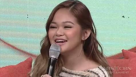 Magandang Buhay: Janine, masayang ikinuwento ang duet niya kasama si Unique sa It's Showtime Image Thumbnail