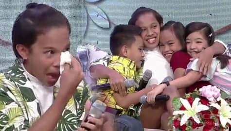 Magandang Buhay: Awra, di napigilang maiyak dahil sa mensahe ng FPJ's Ang Probinsyano kids Image Thumbnail