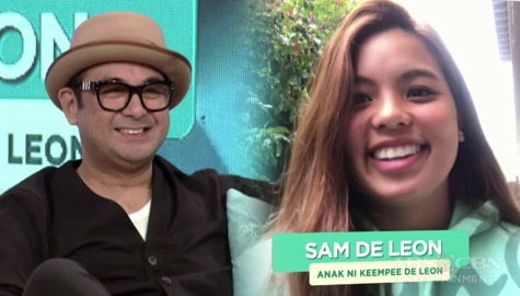 Magandang Buhay: Sam describes Keempee De Leon as a father Image Thumbnail