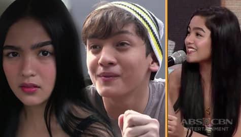 """Andrea on Seth's acting: """"nagulat ako ang galing niya na agad e baguhan pa lang siya"""" Image Thumbnail"""