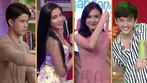 WATCH: The Gold Squad performs the Halo-Halo dance craze on Magandang Buhay Image Thumbnail