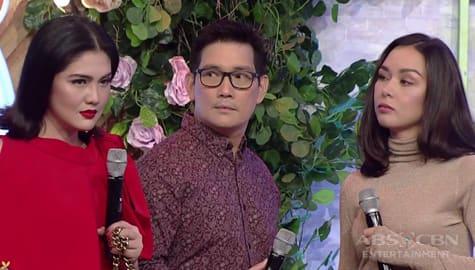 WATCH: Ang pinakahihintay na paghaharap nina Daniela, Romina at Leon sa Magandang Buhay Image Thumbnail