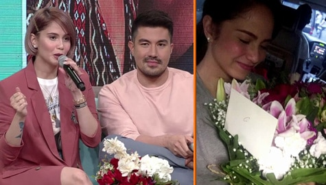 Magandang Buhay: Jessy reveals how Luis courted her Image Thumbnail