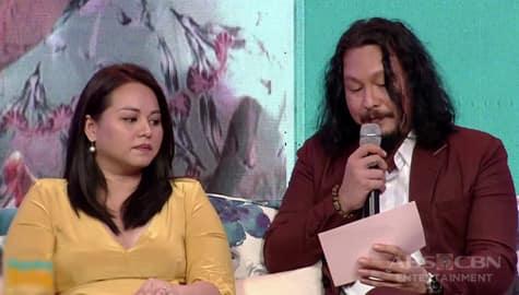 Magandang Buhay: Ang sobrang touching at nakakaiyak na mensahe ni Baron kay Jamie Image Thumbnail