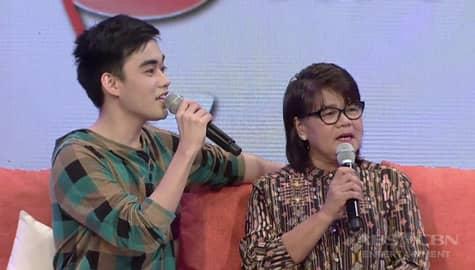 Magandang Buhay: Lucas, sinabing wala siyang formal na pag-amin sa kanyang magulang Image Thumbnail