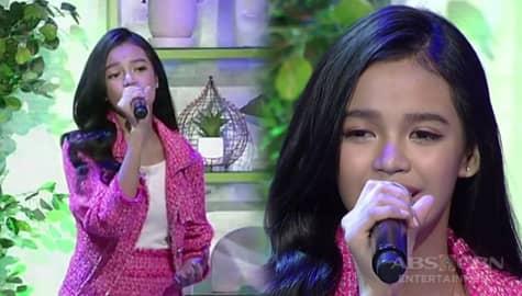 """Zephanie Dimaranan performs """"Salamat"""" on Magandang Buhay Image Thumbnail"""
