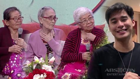 Magandang Buhay: Lola Elisa, Lola Pat at Lola Bing, nakatanggap ng mensahe mula sa mga Kapamilya stars Image Thumbnail