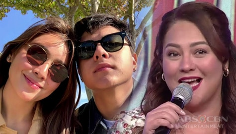 "Karla Estrada to Kathryn Bernardo on Magandang Buhay: ""thank you for loving Daniel"" Image Thumbnail"