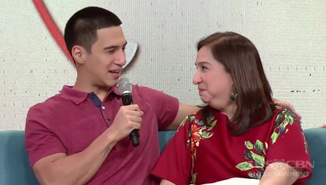 Magandang Buhay: Albie's short but sweet message for his mom