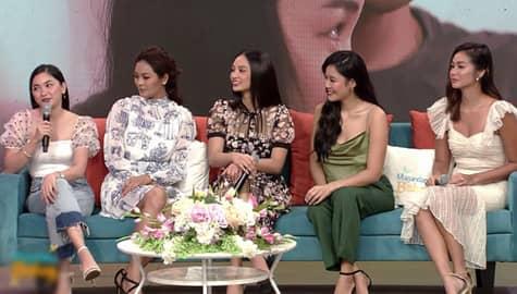 Magandang Buhay: Kylie, Maxine, Ritz, Mica at Mary Joy, ikinuwento ang kanilang samahan sa Los Bastardos set Image Thumbnail