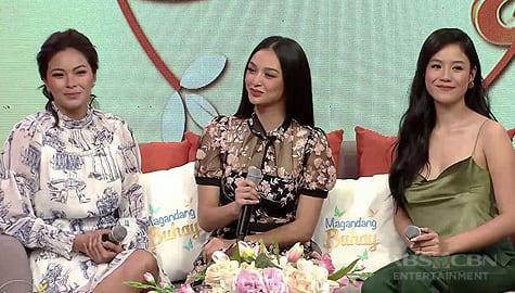 Magandang Buhay: Kylie, Maxine at Ritz, ibinahagi ang pagiging hopeful sa pag-ibig Image Thumbnail
