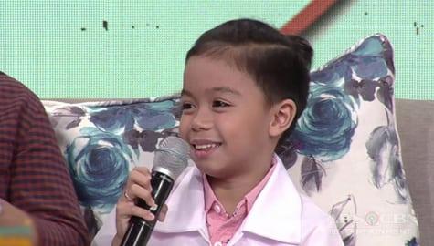 Magandang Buhay: Enzo, sinabi kung bakit swerte sa buhay nila ang letter B Image Thumbnail