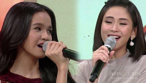 Magandang Buhay: Sarah and Zephanie's short duet of Forever's Not Enough Image Thumbnail