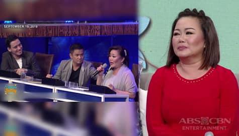 Magandang Buhay: Dulce, sinabi kung bakit niya ipinagtatanggol ang mga Hurados sa Tawag Ng Tanghalan Image Thumbnail