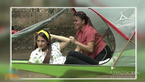 Magandang Buhay: Team Momshies at Jhai Ho, tuwang-tuwa sa sinubukan nilang kakaibang tent Image Thumbnail