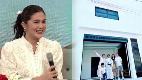 Magandang Buhay: Dimples, masayang ikinuwento ang pagpapa-bless niya sa kanyang pangarap na building Image Thumbnail
